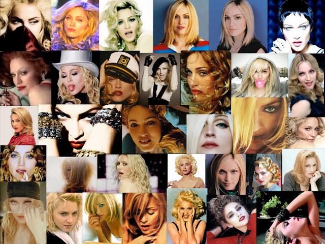 Madonna+faces