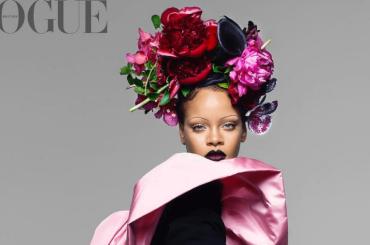 Rihanna, prima donna di colore su Vogue UK di settembre