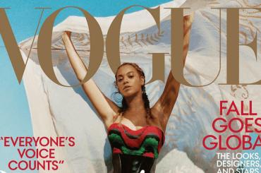 Beyoncé sgrulla la tovaglia sul September issue  di Vogue Usa – le foto