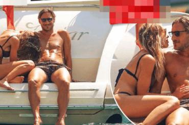 Francesco Totti e Ilary Blasi ancora je l'ammollano – le foto di CHI dalle vacanze