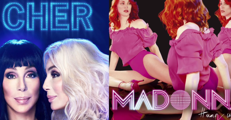 Cher feat. Madonna, ecco il mashup Gimme Gimme Gimme/Hung Up – AUDIO