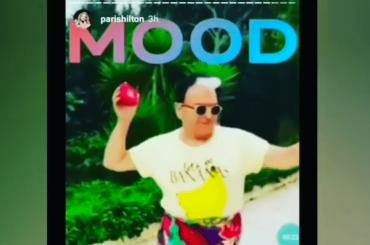 Paris Hilton condivide un video Instagram di Cristiano Malgioglio che balla sui tacchi – video