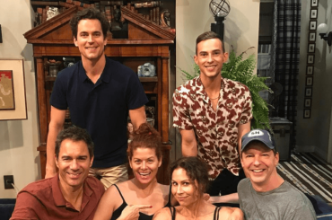 Will and Grace, prima foto dal set con Matt Bomer, Adam Rippon e Minnie Driver