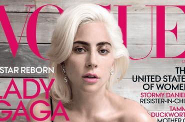 Lady Gaga sulla cover di VOGUE USA – le foto