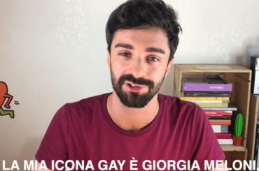 Giorgia Meloni icona gay, l'esilarante video di Daniele Gattano