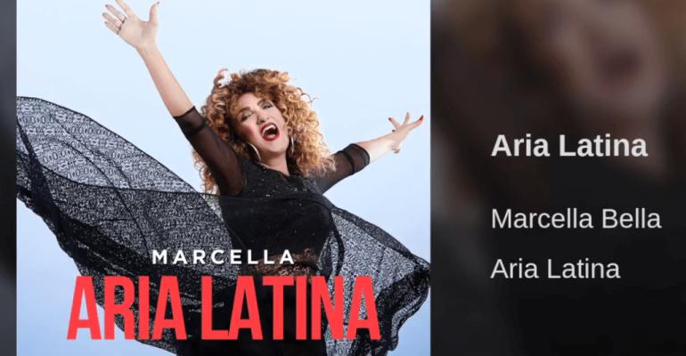 """Aria Latina, Marcella Bella rivisita  """"Nell'aria"""" in salsa pop latino – audio e cover"""