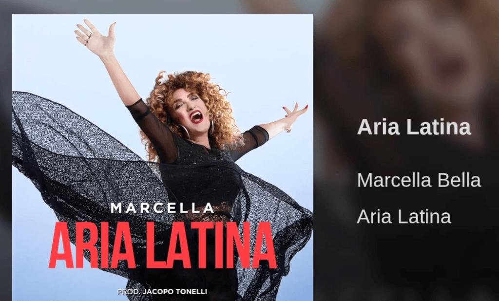 """Aria Latina, Marcella Bella rivisita """"Nell'aria"""" in salsa pop latino -  audio e cover - Spetteguless"""