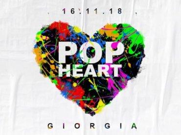 """Pop Heart, Giorgia canta anche """"Dune Mosse"""" , """"Sweet Dreams""""  e """"L'Ultimo Bacio"""" di Carmen Consoli"""