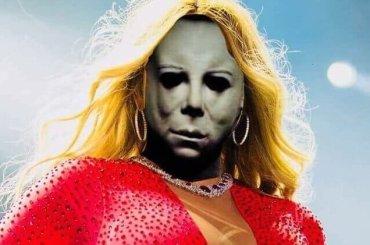 Halloween, Mariah Carey è diventata Michael Myers?