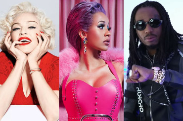 Champagne Rosé, Madonna canta con CARDI B per Quavo – AUDIO