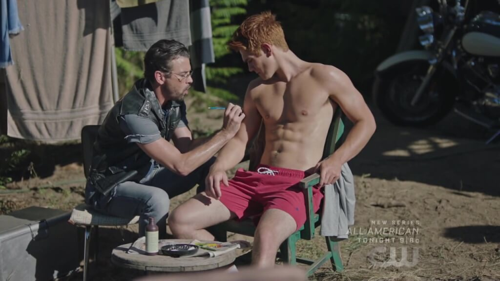 Cole Sprouse and KJ Apa talk their Riverdale bromance