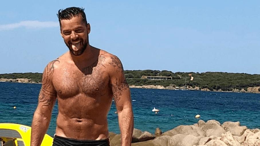 Ricky Martin gnocco per lOfficiel - foto - Spetteguless