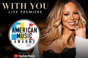 AMA 2018, primo live di With You per Mariah Carey – video