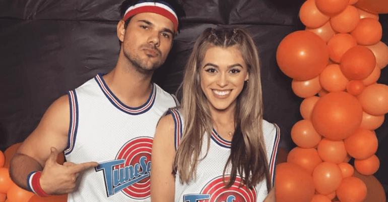 Taylor Lautner presenta la nuova fidanzata, foto social