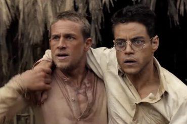 Papillon, Charlie Hunnam e Rami Malek nudi in doccia – la scena in gif