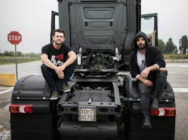 Drive Me Home, prime immagini per il film con  Marco D'Amore camionista gay