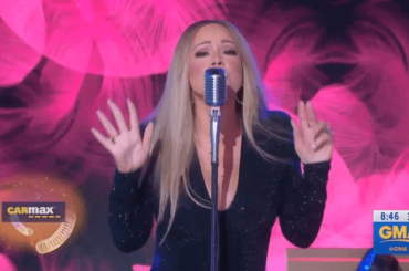 Mariah Carey, primo  live tv dopo l'uscita del disco con 'With You' – video