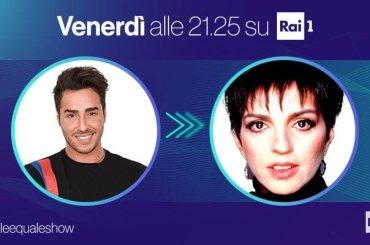 Tale e Quale Show, domani Federico Angelucci sarà LIZA MINNELLI – video