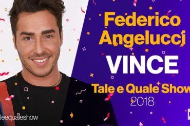 Tale e Quale Show, Federico Angelucci vince il Torneo dei Campioni – stracciato di nuovo Scherzi a Parte