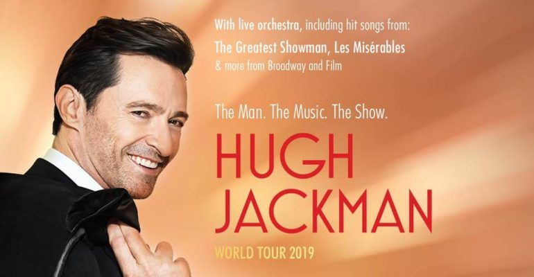Hugh Jackman, un tour mondiale con le canzoni de Les Miserables e The Greatest Showman