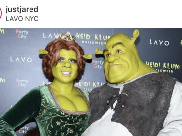 Heidi Klum è FIONA di Shrek per Halloween, le foto