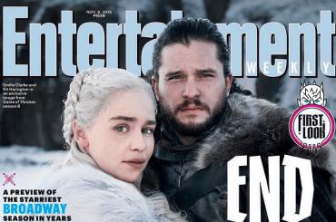 Game Of Thrones, la prima foto ufficiale dell'ultima stagione sulla cover di Entertainment Weekly