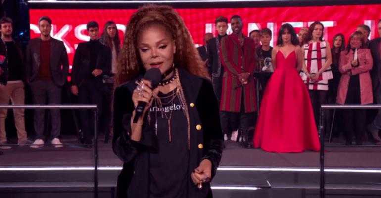 EMA 2018, Janet Jackson GLOBAL ICON – il video