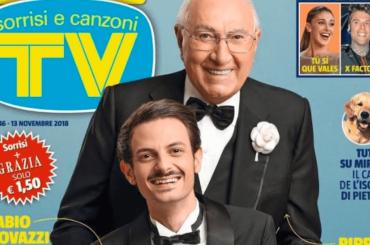 Sanremo Giovani, ufficiale la conduzione di  Pippo Baudo e Fabio Rovazzi –  la cover di Tv Sorrisi e Canzoni