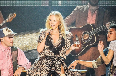 Kylie Minogue  show a Padova, i video dall'unico concerto italiano