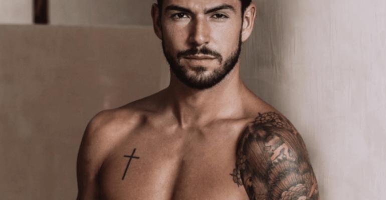 Ignazio Moser in mutande, è ancora pacco social – foto Instagram