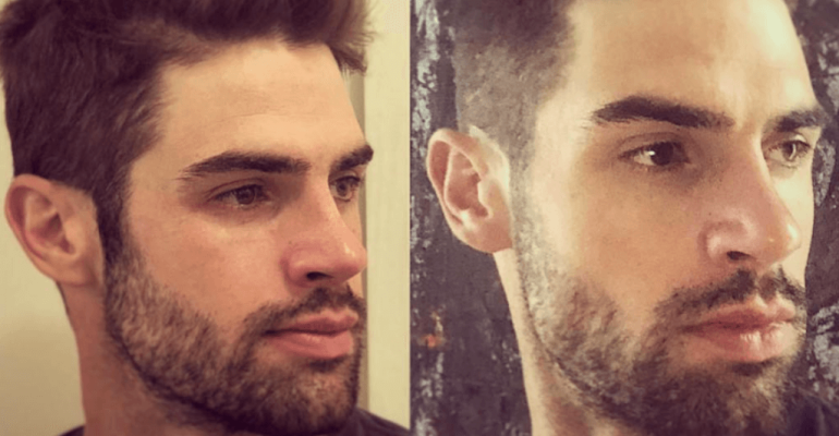 Chad White al cane, 'dammi un bacio' – e quello va sul pisello – video