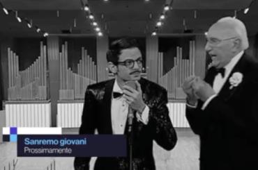 Sanremo Giovani, il primo spot con Pippo Baudo e Fabio Rovazzi – video