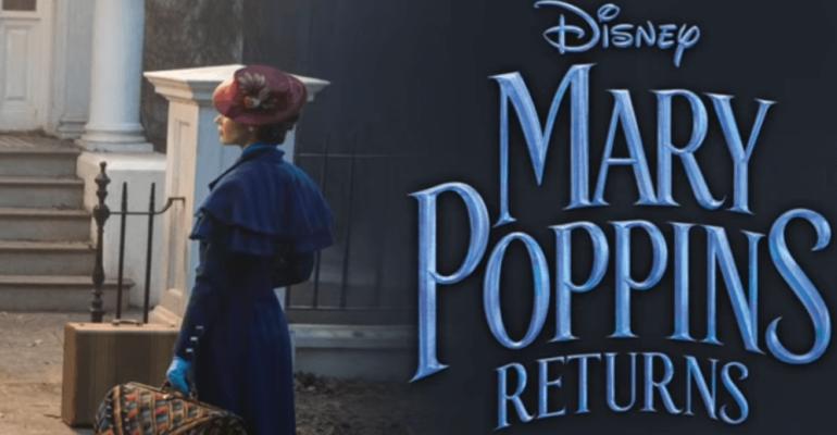 Il ritorno di Mary Poppins, ecco le due prime canzoni INEDITE – audio