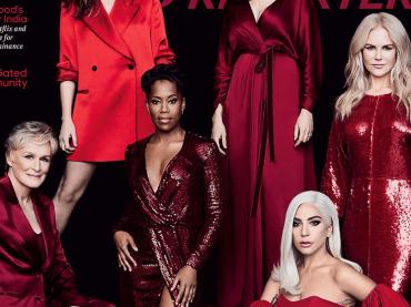 Anche Lady Gaga sulla celebre cover dell'Hollywood Reporter che lancia le attrici da Oscar