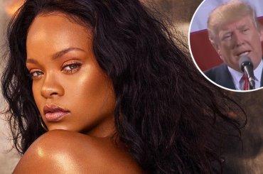 Rihanna vs. Donald Trump: 'non utilizzare la mia musica'