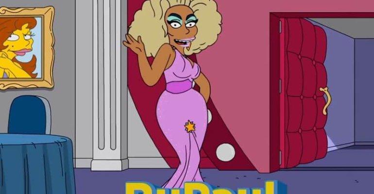 RuPaul nei Simpson, lo spot della puntata con HOMER drag queen – video