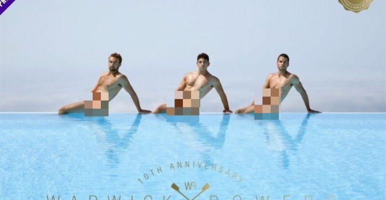 Warwick Rowers, decimo anno di calendari hot per i canottieri inglesi – il video dal dietro le quinte