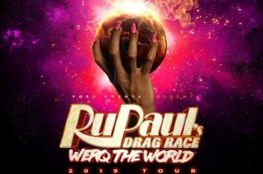 RU PAUL'S DRAG RACE: WERQ THE WORLD TOUR al Teatro Olimpico di Roma (e il giorno dopo a Milano)