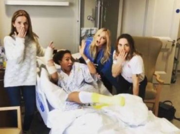 Mel B sotto i ferri, reunion Spice  in ospedale