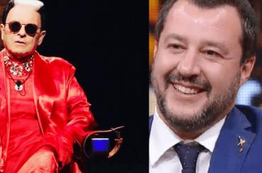 Cristiano Malgioglio, 'Matteo Salvini mi sta simpatico, è cortese e riconoscente'