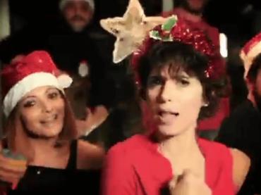 Giorgia canta il Natale, il video social