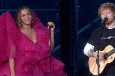 Beyoncé e Ed Sheeran, primo live con 'Perfect Duet' –  il video