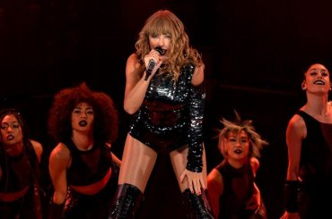 Reputation Tour di Taylor Swift su NETFLIX a Capodanno, il trailer