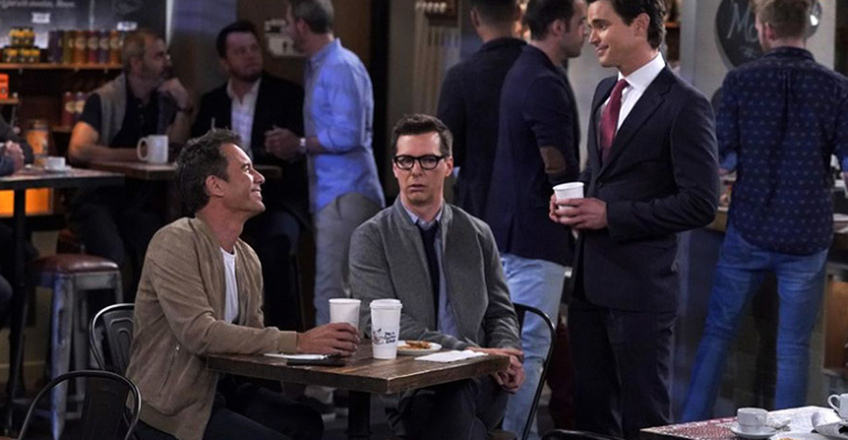 Will and Grace, Matt Bomer  fan di RuPaul –  video