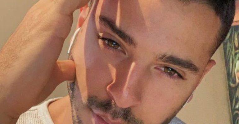 Giuseppe Giofrè gnagno in mutande, la foto social