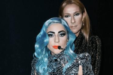 Celine Dion impazzisce al concerto di Lady Gaga, i video