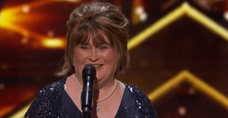 America's Got Talent: The Champions, sorpresa Susan Boyle concorrente – video