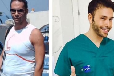 #10yearchallenge, Giacomo Urtis è IRRICONOSCIBILE – la foto