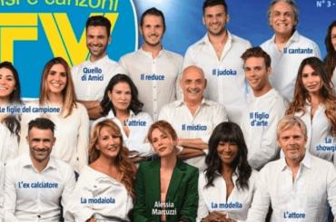 Isola 2019, ecco la copertina di Tv Sorrisi con il CAST UFFICIALE