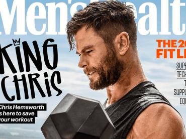 Chris Hemsworth è Mr. Muscolo su Men's Health – le 4 copertine e le foto